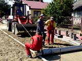 Budowa układu komunikacyjnego w Woli Uhruskiej: ul. Krzywa